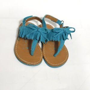 3/$15🌞Koala Kids Faux Suede Fringe Sandals Size 4